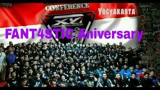 Menuju FANT4STIC Anniversary XYi X-Riders Yamaha Indonesia di Kaliurang Yogyakarta,  21-22/10/2017