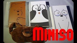 We Bare Bears | Miniso Haul PH