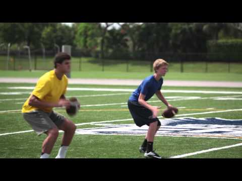 Chad Pennington-The Quarterback Pt 5- Footwork-3 Step Drop