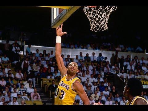Kareem Abdul Jabbar DOMINATES In the Playoffs! | Best Buckets From The NBA Vault!