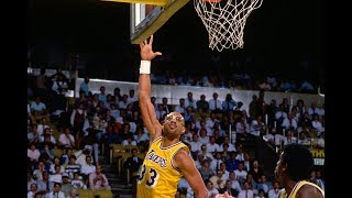 Kareem Abdul Jabbar DOMINATES In the Playoffs! | Best Buckets From The NBA Vault!