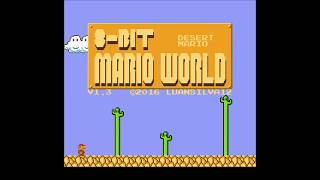8 bit Mario World - Desert Mario (SMW Hack)