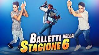 """LET's DANCE THE """"NEW"""" BALLS of FORTNITE! Pass Battle 6! Fortnite Battle Royale ITA!"""