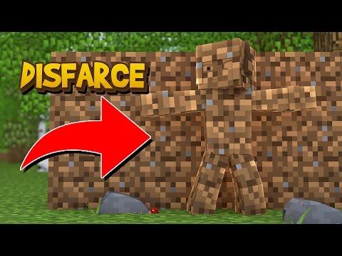 Minecraft: DISFARCE DE TERRA - (Esconde-Esconde)