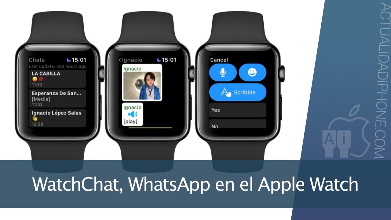 WatchchatLa Usar En App Whatsapp Apple Watch Para Mejor Tu q3j54ARL