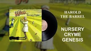 Genesis - Harold the Barrel (Official Audio)