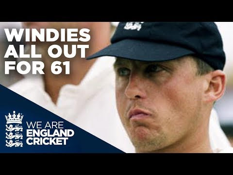 Windies All Out For 61 | England v West Indies - Headingley 2000