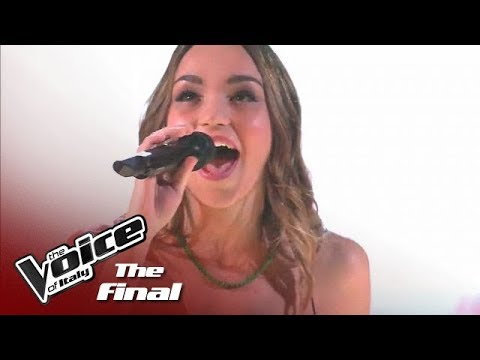 """Beatrice Pezzini """"I Wanna Dance With Somebody"""" - The Final - The Voice of Italy 2018"""