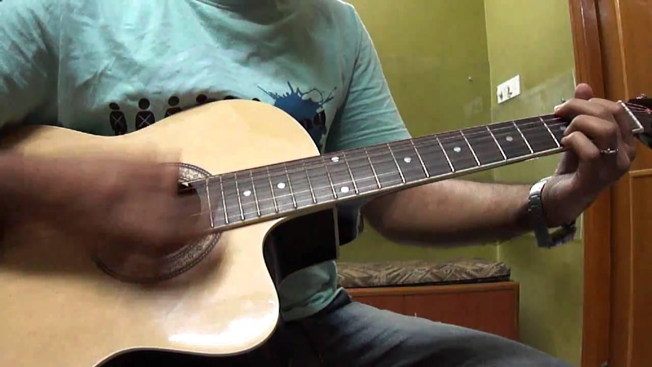 gulabi aankhen mohammed rafi guitar cover youtube