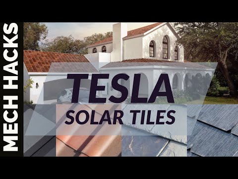 Tesla Solar Roof Tiles | Roof tiles which generates Electricity |Full Insight in Hindi