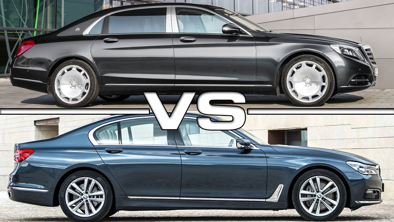 2015 Mercedes Maybach S600 vs 2016 BMW 7 Series - YouTube on
