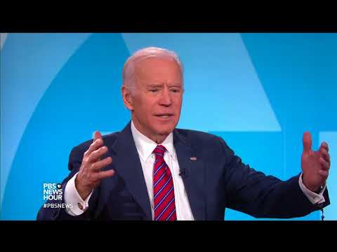 Joe Biden condemns Trump's handling of North Korea, hasn't ruled out 2020