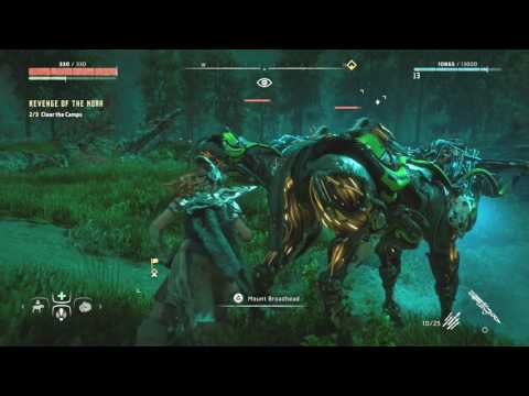 Horizon Zero Dawn Destroy the Alarm Clear the Camps