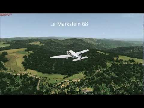 Alsace VFR photo HD 3D automation Survol des Hautes Vosges