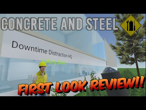 Concrete and Steel   First look review!!