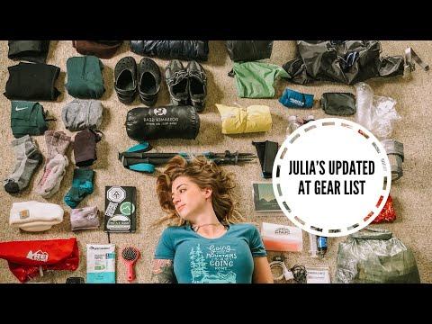 Julia's PRE-AT 2019 Vlog #4 - Updated Gear List