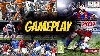 Gameplay PES 2011 PC
