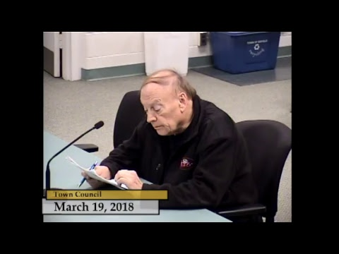 Enfield, CT - Town Council - March 19, 2018