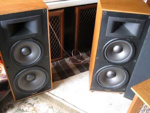Craigslist Com Sacramento >> KLIPSCH 5.2 speakers - YouTube