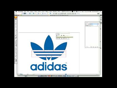 How to make an Adidas logo with Adobe Illustrator
