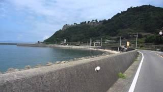 島原サイクリング加津佐町付近