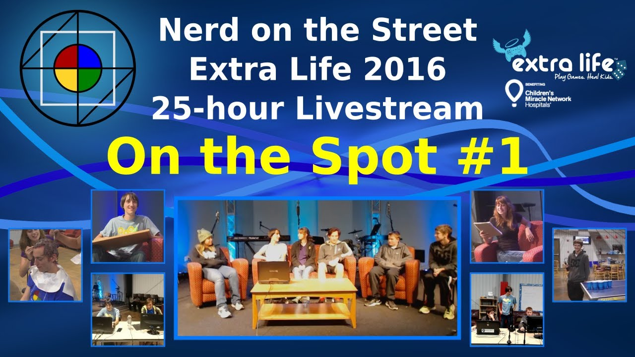 On the Spot, Episode 1 - Extra Life 2016