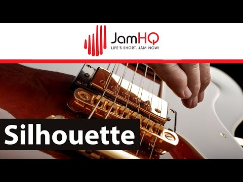 Jazz Rock Backing Track Jam in Am - Silhouette
