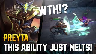 Strike of Kings: THIS ABILITY JUST MELTS!! Preyta Gameplay