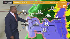 Morning weather forecast for Northeast Ohio: December 13, 2019
