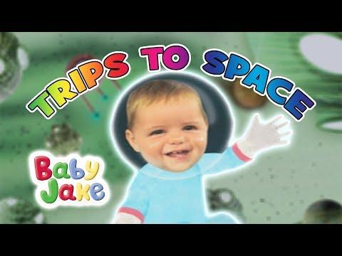Baby Jake - Trips To Space   Yacki Yacki Yogi   Cartoons for Kids