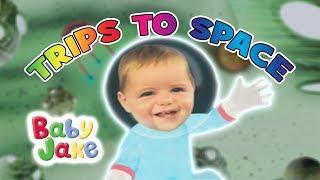 Baby Jake - Trips To Space | Yacki Yacki Yogi | Cartoons for Kids