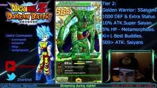 Link skill Tier list Dokkan Battle