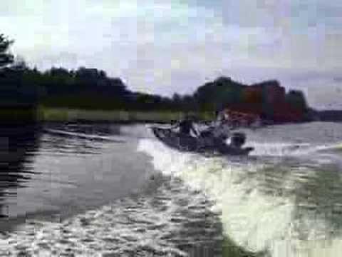 boston whaler boat jump