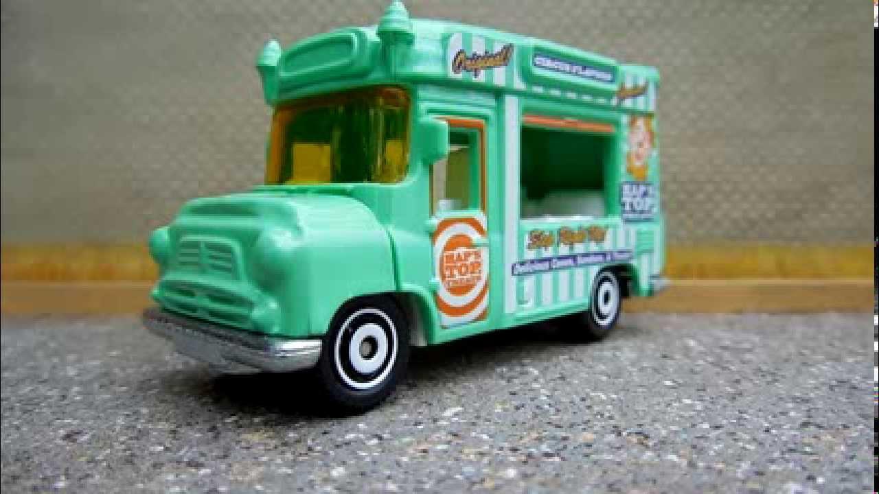 Captivating Featured Matchbox Car   Ice Cream Van