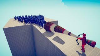 100x TAEKWONDO vs EVERY GOD 🔥 TABS - Totally Accurate Battle Simulator