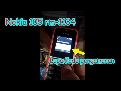 How to Reset nokia 105 RM-1134  Forgoten code.