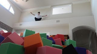INDOOR FOAM PIT IN THE NEW HOUSE!! (INSANE) | Vlogs | FaZe Rug
