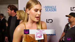 The Miracle Season with Natalie Sharp red carpet & premiere