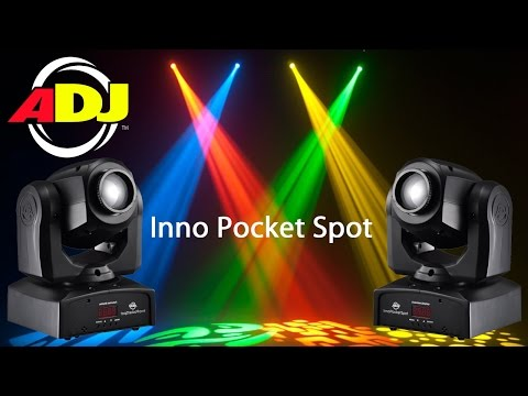 American DJ Inno Pocket Spot (Demo / Review)