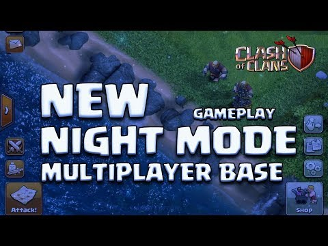 NIGHT MODE IN MAIN VILLAGE | UPDATE CONCEPT | CLASH OF CLANS