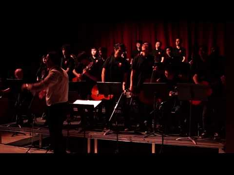 """A.Y. Jackson Grade 10 Guitar Class - """"Smoke on the Water"""" (May Music Night 1)"""