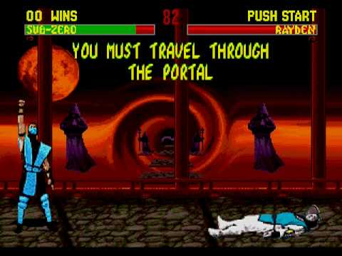 Mortal kombat 2 unlimited sega