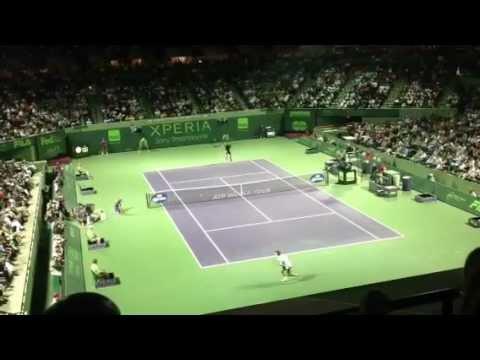 Djokovic Vs Ferrer highlights, Sony Ericsson Open 2012