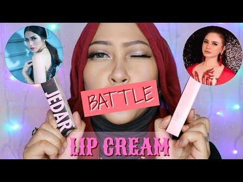 jedar-cosmetics-versus-rossa-beauty-|-review-matte-lip-cream-selebritis-indonesia-#4-|firda-velayati