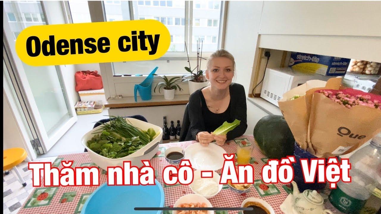 #65: Đi thăm cô dịp cuối tuần, tiệm Việt tại thành phố Odense