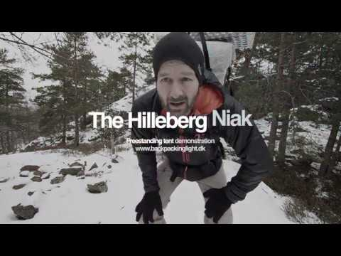 Hilleberg Niak tent Demonstration