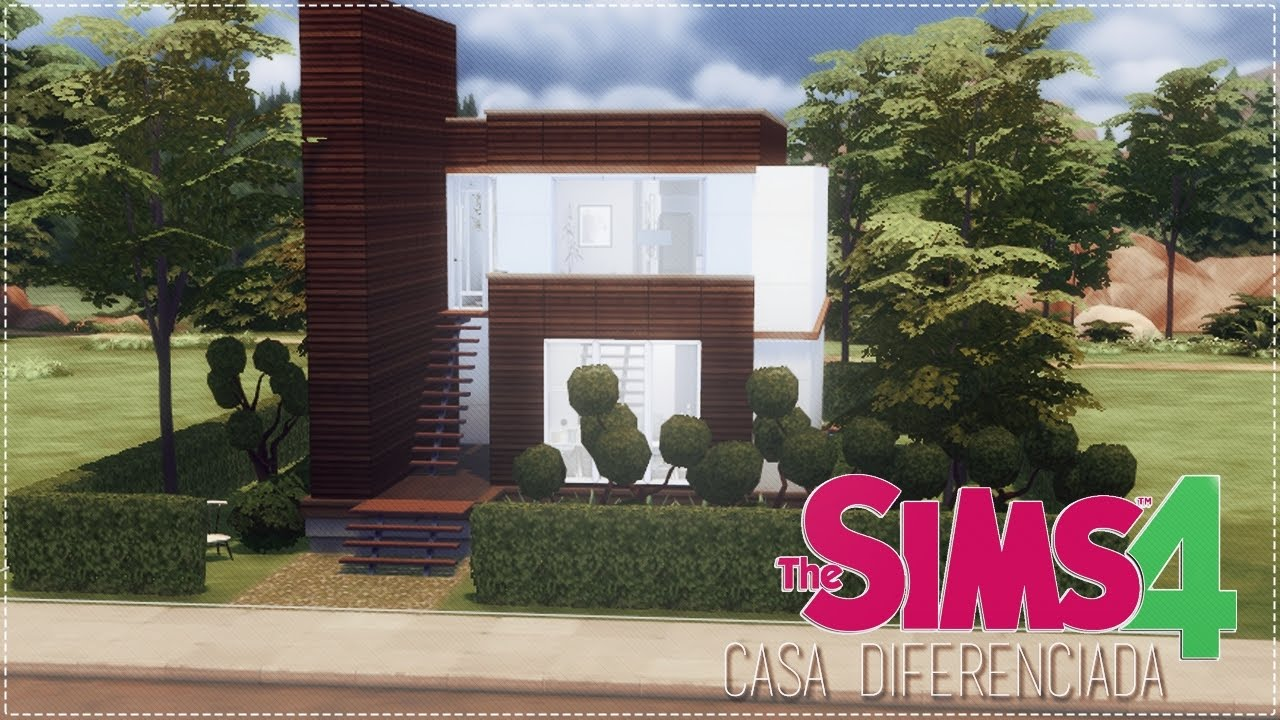 The sims 4 casa diferenciada youtube for Sims 4 piani di casa