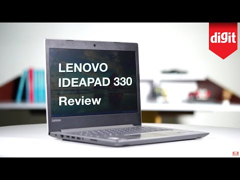 Lenovo Ideapad 330 Review   Digit.in