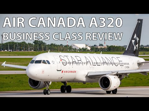 Air Canada | A320 BUSINESS CLASS Vancouver To Calgary