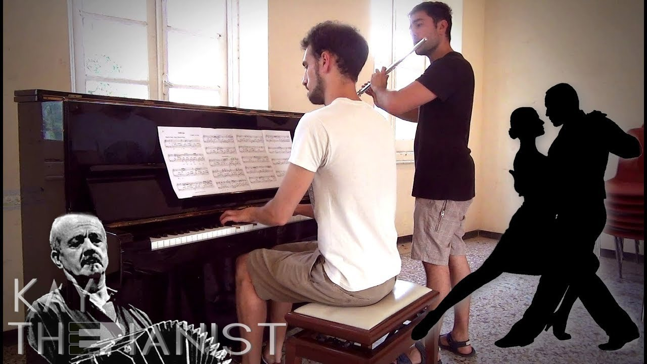 Oblivion - Astor Piazzolla (Piano - Flute) + SHEET MUSIC IN DESCRIPTION!